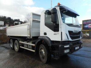 Camion porteur Iveco Trakker Bibenne / Tribenne AD260T36 Occasion