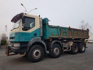 Camion porteur Renault Kerax Bibenne / Tribenne 420dci.32 8x4 BENNE Occasion