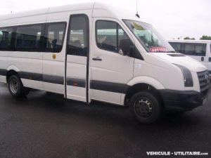 Camion porteur Volkswagen Crafter Bus et Cars Minibus 23 pl roues jumelées Occasion