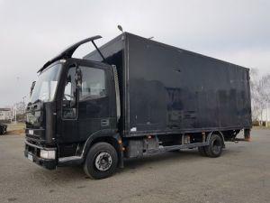 Camion porteur Iveco EuroCargo Caisse fourgon + Hayon élévateur 80 E 15 Occasion
