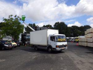Camion porteur Mercedes Atego Caisse fourgon + Hayon élévateur 1018 Occasion