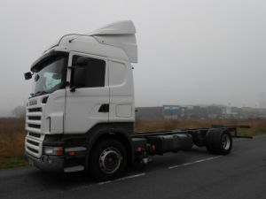 Camion porteur Scania R Chassis cabine 420 LB 4x2 HIGHLINE Occasion