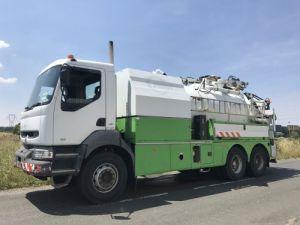 Camion porteur Renault Kerax Hydrocureur 340.16 6x4 Occasion