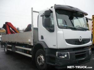 Camion porteur Renault Premium Plateau + grue Occasion