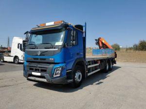 Camion porteur Volvo FMX Plateau + grue FMX 13L 500 6X4 EURO 6 Occasion