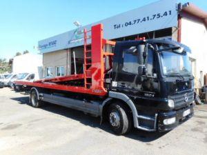 Camion porteur Mercedes Atego Plateau porte voiture 1524 Occasion