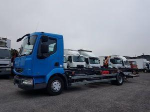 Camion porteur Renault Midlum Porte container 220dxi.12 PORTE-CAISSE 6m80 Occasion