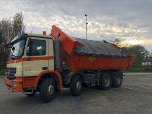 Camion tracteur Mercedes Actros 3241 8x4 BI BENNE HYDRAULIQUE Occasion