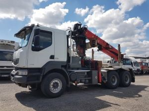 Camion tracteur Renault Kerax 520dxi.35 6x4 HEAVY - GRUMIER Occasion