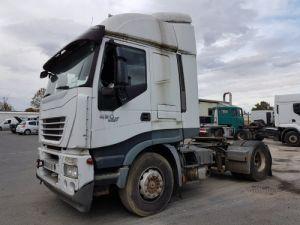 Camión tractor Iveco Stralis AS 420 - Pour pièces (panne BV + chocs cabine) Occasion