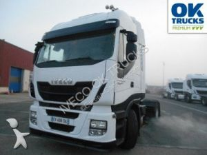 Camión tractor Iveco Stralis AS440S46TP (Euro5 Klima Luftfed. ZV) Occasion