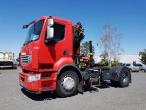Camión tractor Renault Premium 450dxi GRUE PK 15500C Occasion
