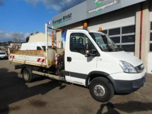 Camión Iveco Daily Volquete + grúa 65C15 BENNE + GRUE Occasion