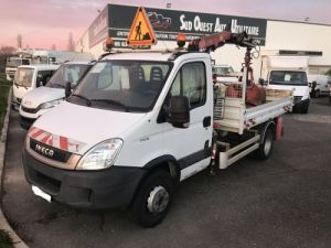 Camión Iveco Daily Volquete + grúa 70C18 BENNE GRUE Occasion