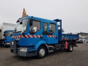Camión Renault Midlum Volquete trasero cabina doble 220dci.12 TRI-BENNE / 7 PLACES Occasion