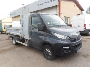 Chassis + body Iveco Daily 2/3 way tipper body 35C18 TRIBENNE + COFFRE Occasion