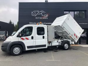 Chassis + body Citroen Jumper Back Dump/Tipper body BENNE PAYSAGUSTE DOUBLE CABINE Occasion