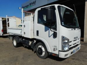 Chassis + body Isuzu NLR Back Dump/Tipper body 150 BENNE + COFFRE Occasion
