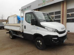 Chassis + body Iveco CF75 Back Dump/Tipper body 35C14 BENNE Occasion