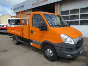 Chassis + body Iveco Daily Back Dump/Tipper body 35C13 BENNE + COFFRE Occasion