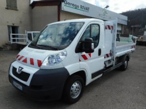 Chassis + body Peugeot Boxer Back Dump/Tipper body HDI 130 Occasion