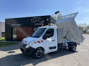Chassis + body Renault Master Back Dump/Tipper body 165 CV BENNE PAYSAGISTE COFFRE CROCHET Occasion