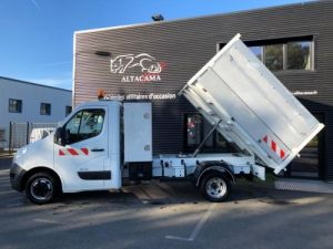 Chassis + body Renault Master Back Dump/Tipper body BENNE PAYSAGISTE COFFRE CROCHET Occasion