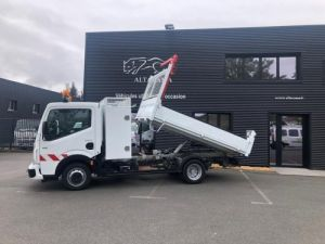 Chassis + body Renault Maxity Back Dump/Tipper body BENNE -COFFRE-POTENCE Occasion