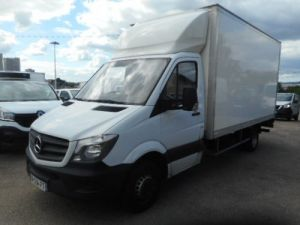 Chassis + body Mercedes Sprinter Box body + Lifting Tailboard 514 CAISSE + HAYON Occasion