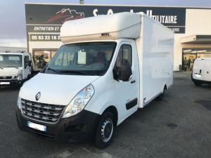 Chassis + body Renault Master Box body DCI 125CV POLYVOLUME CLIM  Occasion