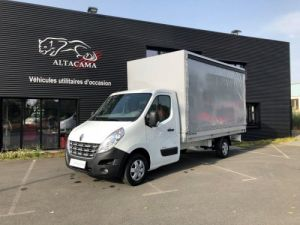 Chassis + body Renault Master Curtain side body PLSC Occasion