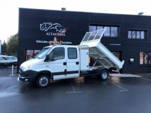 Chassis + body Iveco Daily Double Cab Back Dump/Tipper body 7 PLACES .COFFRE.CROCHET  Occasion