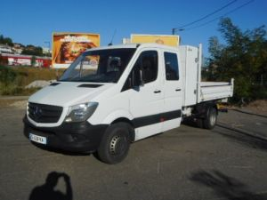 Chassis + body Mercedes Sprinter Double Cab Back Dump/Tipper body 514 DOUBLE CABINE BENNE Occasion