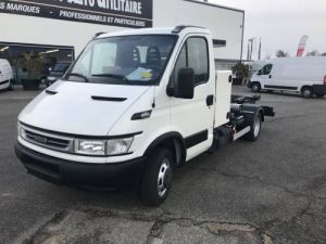Chassis + body Iveco Daily Hookloader Ampliroll body 35C14 CLIM Occasion