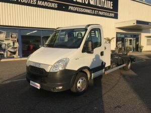 Chassis + body Iveco Daily Hookloader Ampliroll body 35C15 BRAS GUIMA  Occasion
