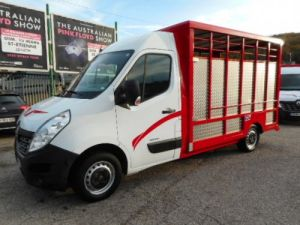 Chassis + body Renault Master Livestock body DCI 125 Occasion