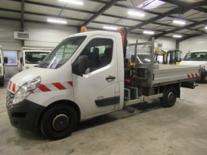 Chassis + body Renault Master Platform body + crane DCI 125 PLATEAU + GRUE Occasion