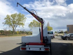 Chassis + body Renault Master Platform body + crane PLATEAU  COFFRE GRUE ARRIERE Occasion