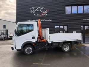 Chassis + body Renault Maxity Platform body + crane PLATEAU GRUE ATLAS Occasion