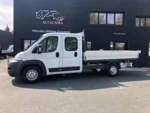 Chassis + body Peugeot Boxer Platform body DOUBLE CABINE PLATEAU Occasion