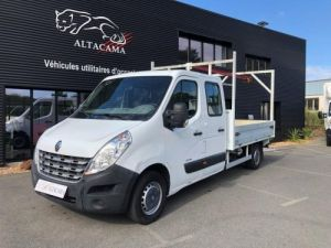 Chassis + body Renault Master Platform body 125 DOUBLE CABINE PLATEAU  AVEC POTENCE Occasion
