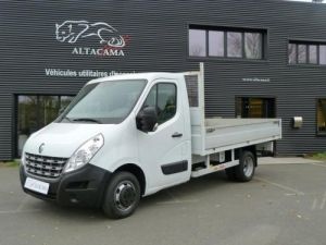 Chassis + body Renault Master Platform body PLATEAU Ridelles long 125 roues jumelées Occasion