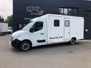 Chassis + body Renault Master 150 CV FOURGON RAVITAILLEUR CHANTIER BASE VIE Occasion