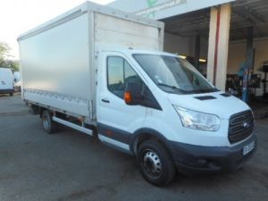 Chassis + body Ford Transit Tilt type body TDCI 155 CAISSE SAVOYARDE + HAYON Occasion