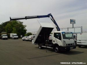 Chassis + body Nissan Cabstar Tipper body + crane nt400 35.14 benne grue Occasion