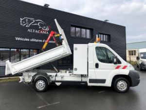 Chassis + body Peugeot Boxer Tipper body + crane BENNE GRUE COFFRE Occasion