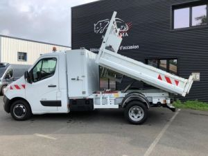 Chassis + body Renault Master Tipper body + crane 125cv BENNE-GRUE-COFFRE Occasion