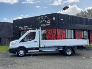 Chasis + carrocería Ford Transit Caja abierta PLATEAU RIDELLES LONG 4m30 Occasion
