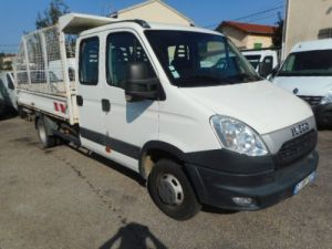 Chasis + carrocería Iveco Daily Volquete trasero cabina doble 35C13 BENNE DOUBLE CABINE Occasion