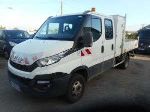 Chasis + carrocería Iveco Daily Volquete trasero cabina doble 35C13 DOUBLE CABINE BENNE Occasion